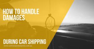 car shipping australia